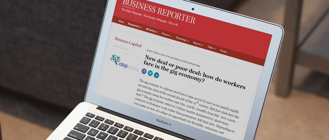 ABP Featured In Business Reporter Human Capital Edition